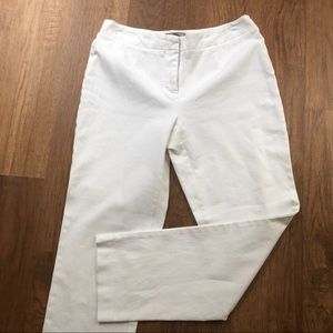 Chico's Fabulously Slimming 0 small white short 4